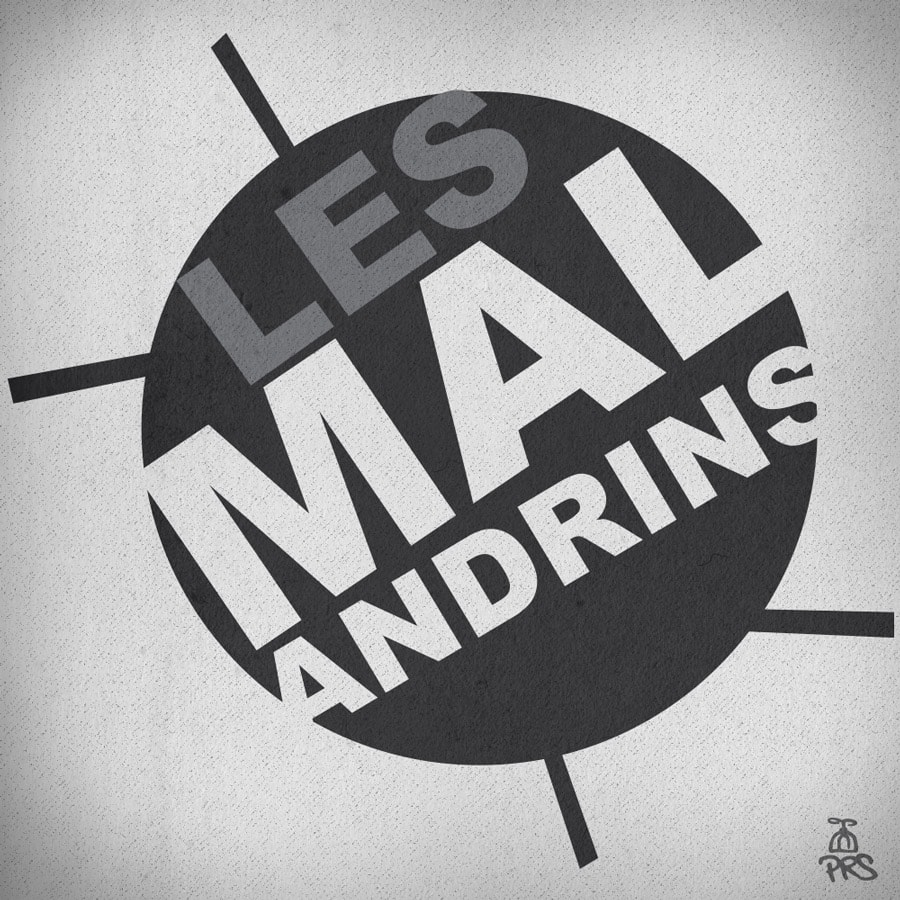 Logo Les Malandrins by Benjamin Boukagne