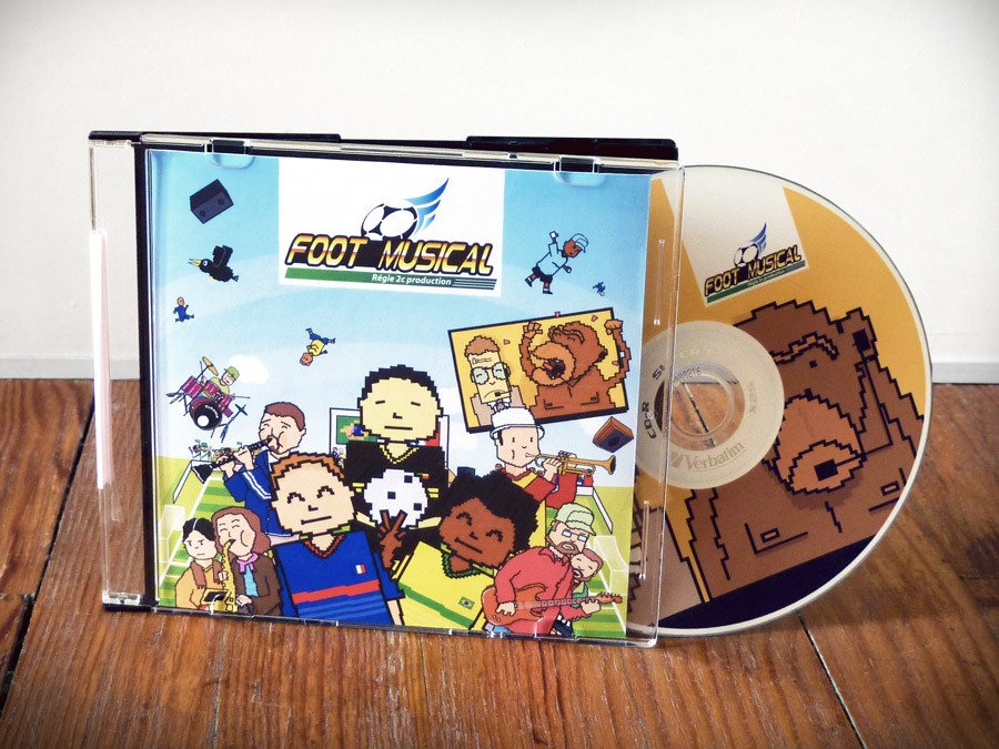 Pochette CD Foot Musical