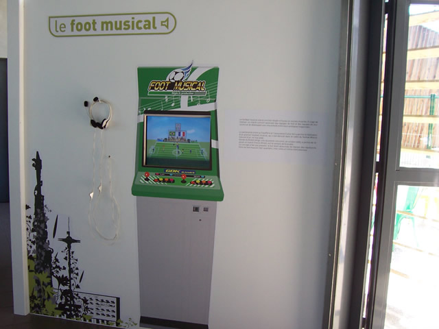 scénographie Foot Musical