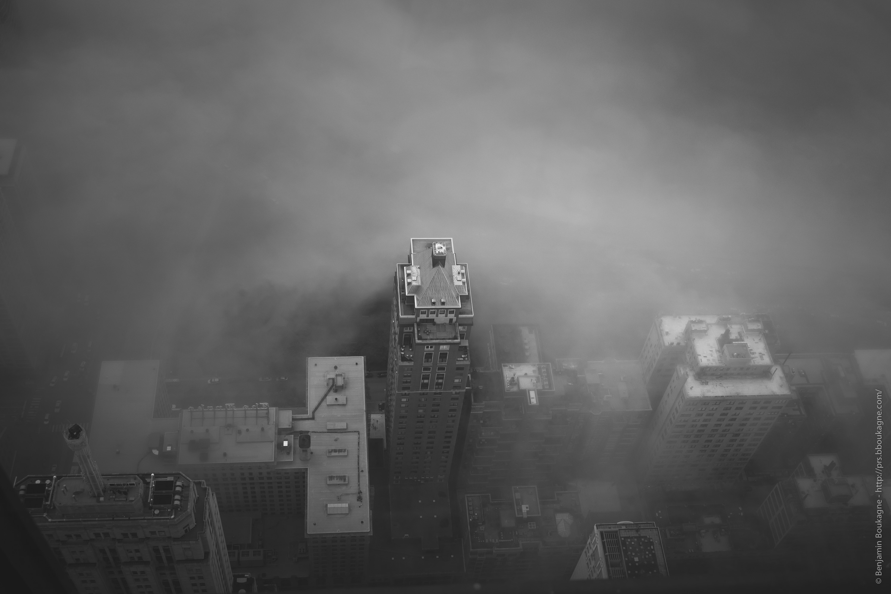 Chicago : A touch of fog