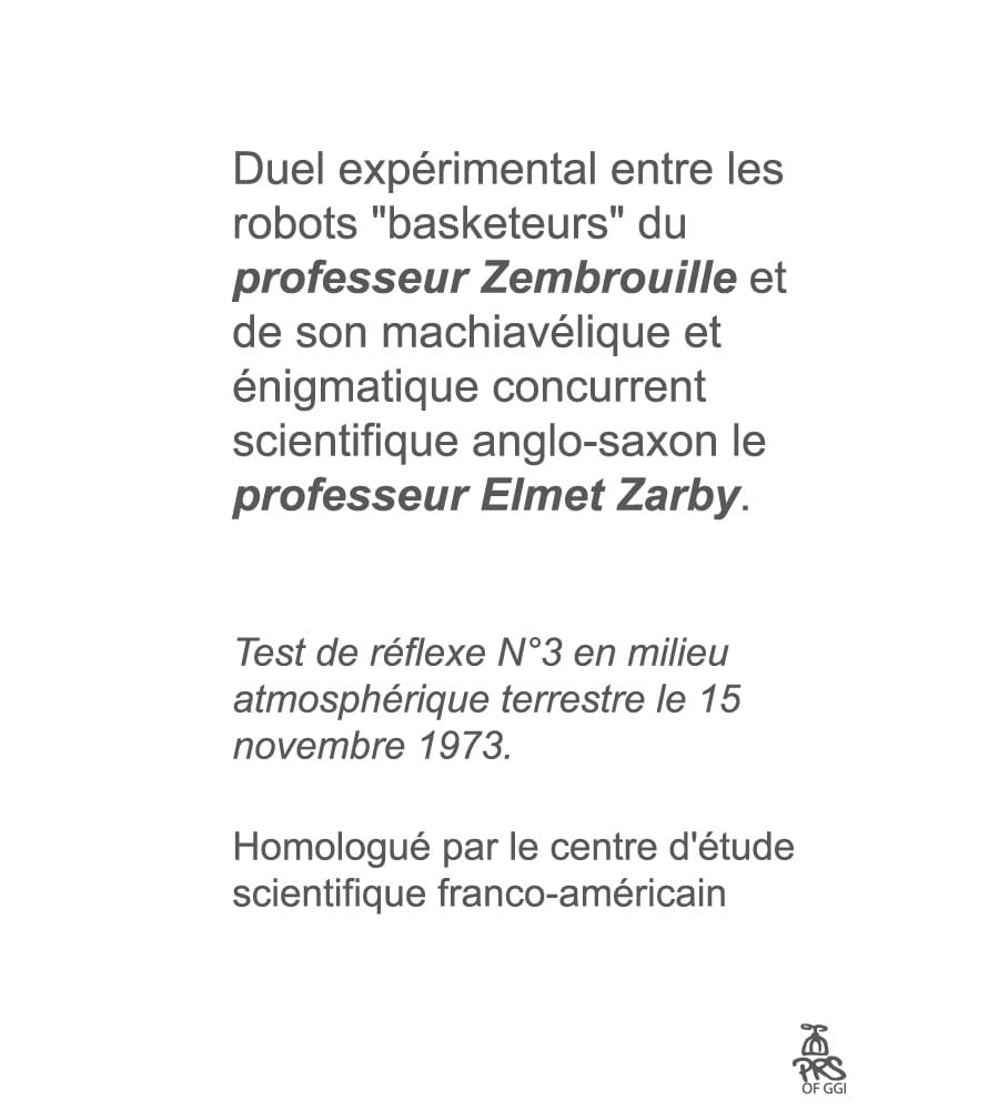 Comic strip - Dr Zembrouille VS professeur Elmet Zarby 4