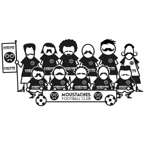 Moustaches Football Club by B.Boukagne