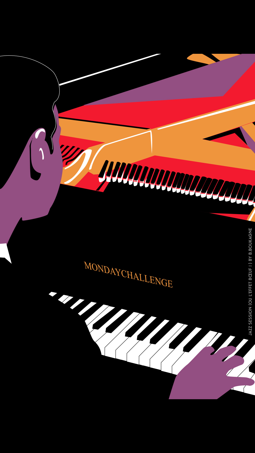 Pianiste jazz session by Benjamin Boukagne