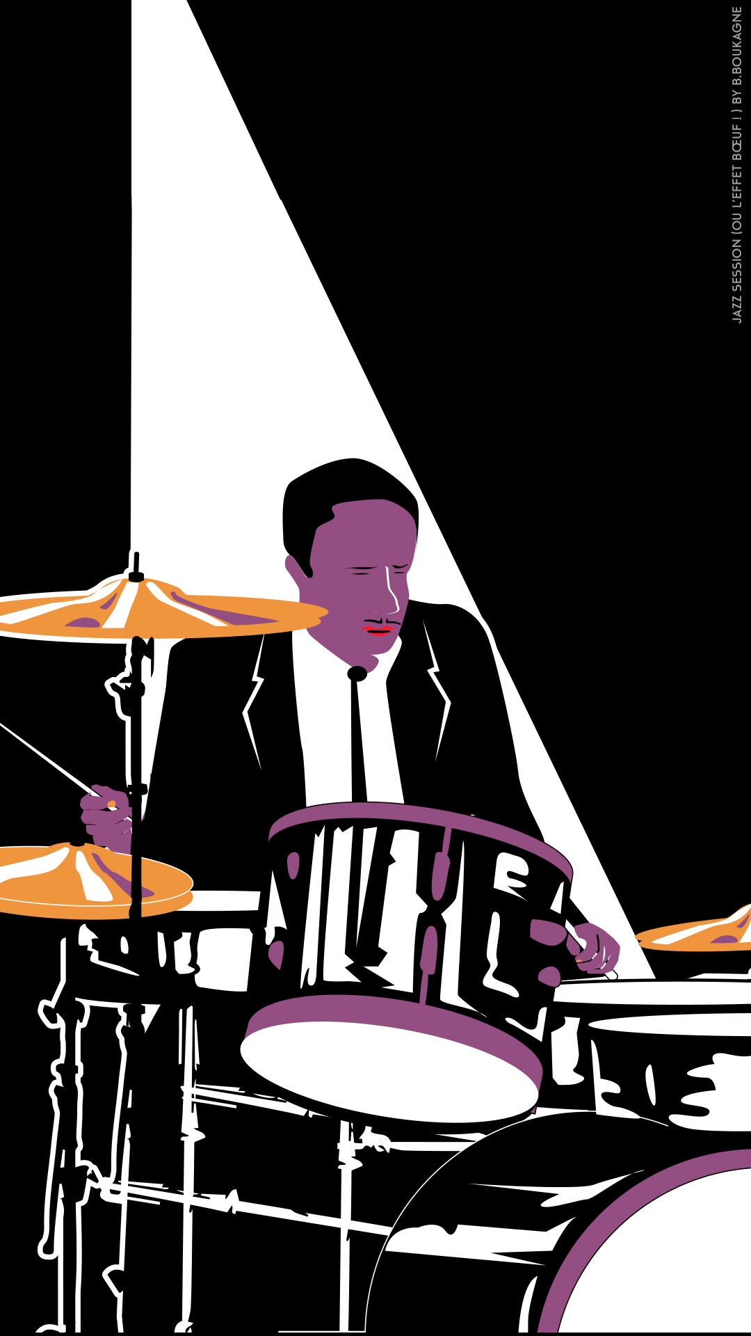 Drummer - Jazz Session by Benjamin Boukagne